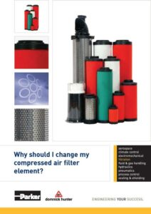 Why should I change my compressed air filter element