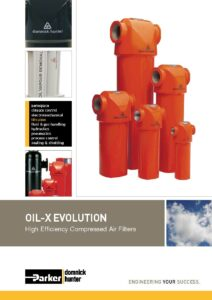 OIL-X EVOLUTION Filter Literature