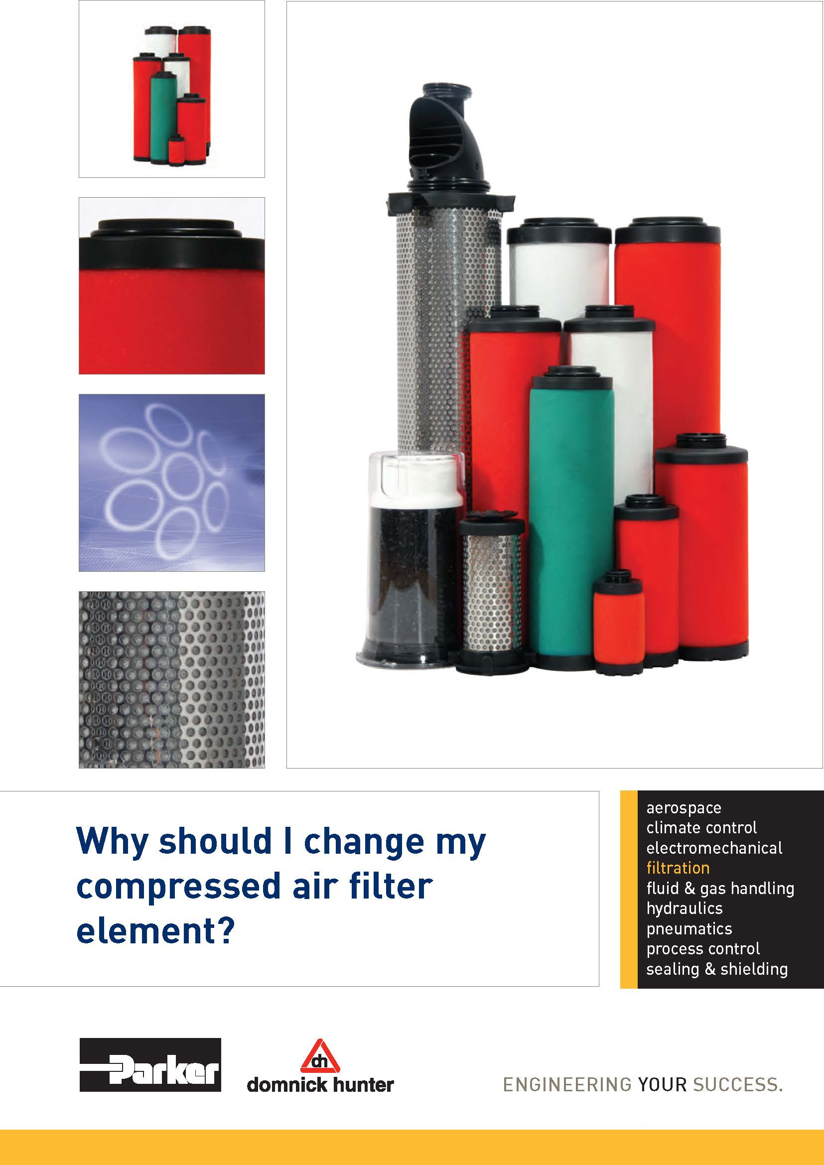Home - Compressed Air Driers and Filters | Parker - domnick
